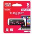 Obrázok pre výrobcu GOODDRIVE 8GB USB kľúč CLICK 3.0 Čierna
