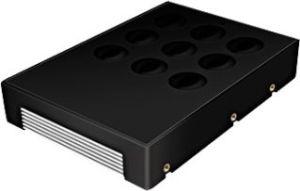 """Obrázok pre výrobcu Icy Box Converter 3,5"""" for 2,5"""" SATA HDD, black + alu"""