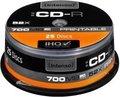 Obrázok pre výrobcu CD-R Intenso [ cake box 25 | 700MB | 52x ] Printable - Fullface