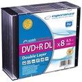 Obrázok pre výrobcu Esperanza DVD+R Double Layer [ Slim Case 10 | 8.5GB | 8x ]