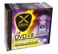 Obrázok pre výrobcu Extreme DVD+R Double Layer [ slim case 10  | 8.5 GB | 8x ]