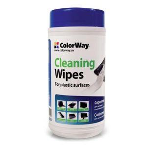 Obrázok pre výrobcu Colorway utierky pre čistenie plastových povrchov (CW-1072)