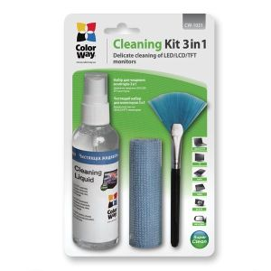 Obrázok pre výrobcu Colorway čistiaca sada 3 v 1 pre Čistenie obrazoviek a monitorov (CW-1031)