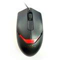 Obrázok pre výrobcu E-Blue Myš Puntero, optická, 3tl., 1 koliesko, drôtová (USB), čierna, 800dpi