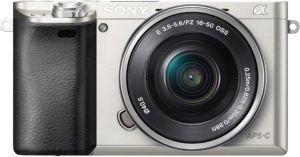 Obrázok pre výrobcu SONY ILCE-6000 Fotoaparát Alfa 6000 s bajonetem E + 16-50mm objektiv - Silver