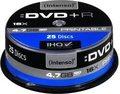 Obrázok pre výrobcu DVD+R Intenso [cake box 25|4.7GB|16x| Printable| Extra Fine Matt | Fullface]