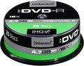 Obrázok pre výrobcu DVD-R Intenso [ cake box 25|4.7GB|16x| printable | Extra Fine Matt | Fullface]