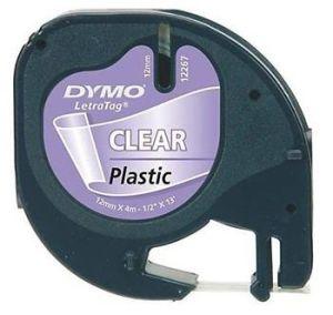Obrázok pre výrobcu páska DYMO 16951 (12268) LetraTag Transparent Plastic Tape (12mm)