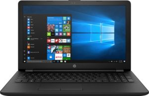 """Obrázok pre výrobcu HP 15-rb052nc, 15.6"""", SVA AG HD, AMD A6-9220, 4GB, 1TB/5400, USB 3.1, DVD-RW,BT,LAN,Win 10, Black"""