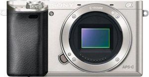 Obrázok pre výrobcu Sony A6000, jen tělo, 24,3Mpix, stříbrný
