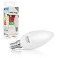 Obrázok pre výrobcu Whitenergy LED žiarovka | 7xSMD2835| C37 | E14 | 3W | 230V | studená bie| mlieko