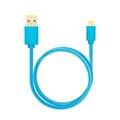 Obrázok pre výrobcu AXAGON HQ Kabel Micro USB, 2A, modrý, 0.2 m