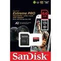Obrázok pre výrobcu SANDISK EXTREME PRO microSDXC 64GB 170/90 MB/s A2 C10 V30 UHS-I U3