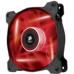 Obrázok pre výrobcu Corsair Air Series AF120 LED Red Quiet Edition, 120mm vent., 25dBA, Single pack