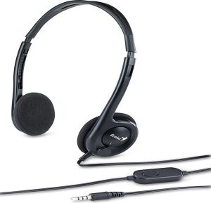 Obrázok pre výrobcu Genius headset - HS-M200C, sluchátka s mikrofonem single jack