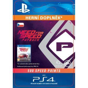 Obrázok pre výrobcu ESD SK PS4 - NFS Payback 500 Speed Points (Av. 7.11.2017)