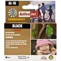 Obrázok pre výrobcu Atrament ActiveJet AL-16   Black   13 ml   Refill   Lexmark 10N0016
