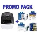 Obrázok pre výrobcu Brother QL-710W WiFi tiskárna samolepících štítků + 4 DK role navíc