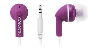 Obrázok pre výrobcu Canyon CNS-CEP01P, štýlové slúchadlá do uší, ružové