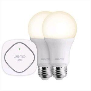 Obrázok pre výrobcu Belkin WeMo® Smart LED Lighting Starter Set - 1x WEMO Link + 2x LED žárovka E27