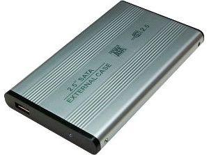 """Obrázok pre výrobcu LOGILINK - Rámček pre 2.5"""" SATA HDD USB 2.0 strieborný"""