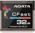 Obrázok pre výrobcu ADATA CFast karta Industrial, MLC, 32GB ,-40 až 85°C (435MB/s / 120MB/s),bulk