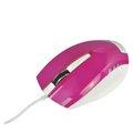 Obrázok pre výrobcu E-Blue Myš Dynamic, optická, 3tl., 1 koliesko, drôtová (USB), fialová, 1480dpi