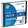 Obrázok pre výrobcu Esperanza DVD-R [ slim jewel case 1 | 4.7GB | 16x ] - kartón 200 ks