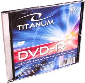 Obrázok pre výrobcu Esperanza Titanum DVD-R [ slim jewel case 1   4.7GB   16x ]