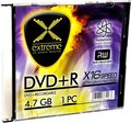 Obrázok pre výrobcu Extreme DVD+R [ slim jewel case 1 | 4.7GB | 16x ]