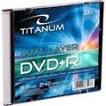 Obrázok pre výrobcu Titanum DVD+R DL [ Slim jewel case 1 | 8.5GB | 8x ]