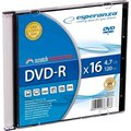 Obrázok pre výrobcu Esperanza DVD-R [ slim jewel case 1 | 4.7GB | 16x ]