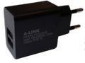 Obrázok pre výrobcu A-link Charger 2xUSB power adapter, PC2U2AS, 5V/2.1A