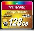 Obrázok pre výrobcu Transcend Compact Flash karta 128GB 1000x, pre priemysl. využitie
