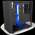 Obrázok pre výrobcu NZXT skříň S340 ELITE / MidTower / ATX / průhledná bočnice / matná černo/modrá