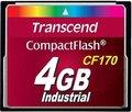 Obrázok pre výrobcu Transcend Compact Flash karta 4GB High Speed CF170