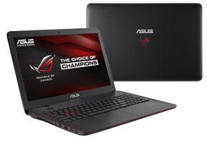 """Obrázok pre výrobcu ASUS G551VW-FW074T i5-6300HQ(3.20GHz) 8GB 256GB SSD 15.6"""" FHD matný GTX960 2GB BluRay Win10 čierna"""