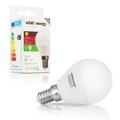 Obrázok pre výrobcu Whitenergy LED žiarovka | 7xSMD2835| B45 | E14 | 3W | 230V | studená bie| mlieko