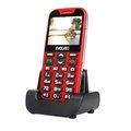 Obrázok pre výrobcu EVOLVEO EasyPhone XD, telefon pro seniory, červený