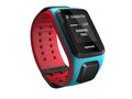 Obrázok pre výrobcu TomTom GPS hodinky Runner 2 Cardio + Music (L), modrá/červená