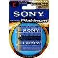 Obrázok pre výrobcu SONY Alkalické baterie AM2PTB2D, 2ks LR14/C, Stamina Platinum