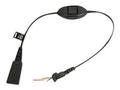 Obrázok pre výrobcu Jabra QD cord - Ascom Mute function (bez konekt)