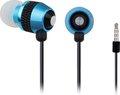 Obrázok pre výrobcu Gembird kovové stereo slúchadlá s mikrofónom a reguláciou hlasitosti, modré