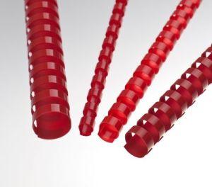 Obrázok pre výrobcu Plastové hřbety 10 mm, červené