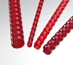 Obrázok pre výrobcu Plastové hřbety 8 mm, červené