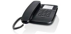 Obrázok pre výrobcu Gigaset DA510 - standardní telefon bez displeje, barva černá