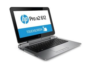 Obrázok pre výrobcu HP Pro x2 612 G1, i5-4202Y, 12.5, HD Touch, 4GB, 128GB SSD, a/b/g/n, BT, HSPA+/GPS, FpR, Backlit kbd, W8.1Pro