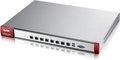 Obrázok pre výrobcu Zyxel USG1100 UTM BUNDLE, Security UTM solution: Firewall, VPN: 1000x IPSec/ 500x SSL (250 default ), 8x 1Gbps (LAN/DMZ/