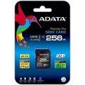 Obrázok pre výrobcu ADATA Premier Pro SDXC karta 256GB UHS-I U3 Class 10 (95/60MB/s)
