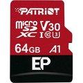 Obrázok pre výrobcu 64GB microSDXC Patriot V30 A1, class 10 U3 100/80MB/s + adapter